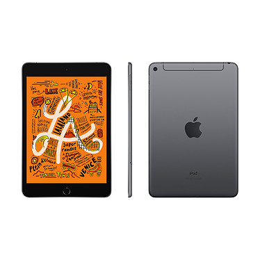 Avis Apple iPad mini 5 Wi-Fi + Cellular 256 Go Gris Sidéral