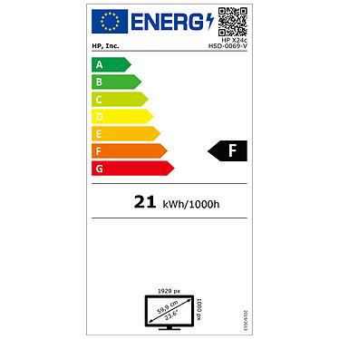 "HP 23.6"" LED - X24c pas cher"