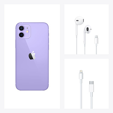 Apple iPhone 12 128 Go Mauve pas cher