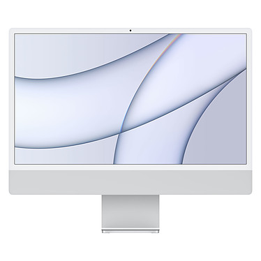 """Apple iMac (2021) 24"""" 1 To Argent (MGPD3FN/A-M1-8/8-1TB-MKPN)"""