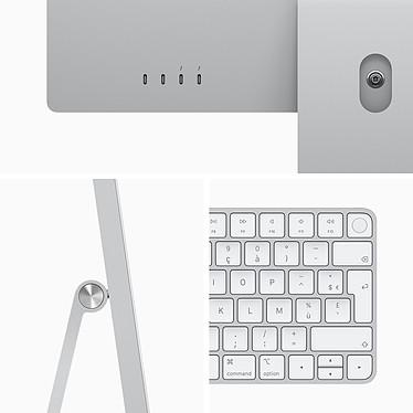 """Acheter Apple iMac (2021) 24"""" 512 Go Argent (MGPD3FN/A-M1-8/8-16GB-MKPN)"""