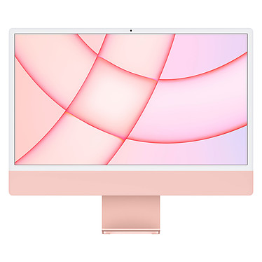 "Apple iMac (2021) 24"" 256 Go Rose (MGPM3FN/A)"