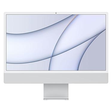 "Apple iMac (2021) 24"" 256 Go Argent (MGPC3FN/A-M1-8/8-MKPN)"