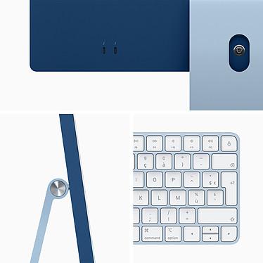 """Acheter Apple iMac (2021) 24"""" 256 Go Bleu (MJV93FN/A-MKPN)"""