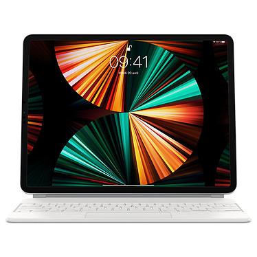 """Apple Magic Keyboard iPad Pro 12.9"""" (2021) Blanc/FR (MJQL3F/A)"""
