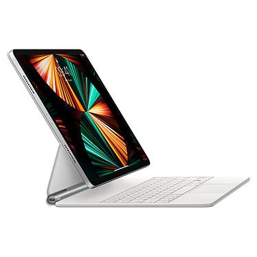 """Acheter Apple Magic Keyboard iPad Pro 12.9"""" (2021) Blanc/FR (MJQL3F/A)"""