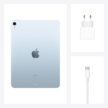 Apple iPad Air (2020) Wi-Fi 256 Go Bleu ciel pas cher