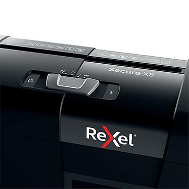 Rexel Destructeur Secure X8 coupe croisée pas cher