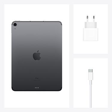 Apple iPad Air (2020) Wi-Fi + Cellular 64 Go Gris Sidéral pas cher
