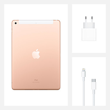 Apple iPad (Gen 8) Wi-Fi + Cellular 32 Go Or pas cher