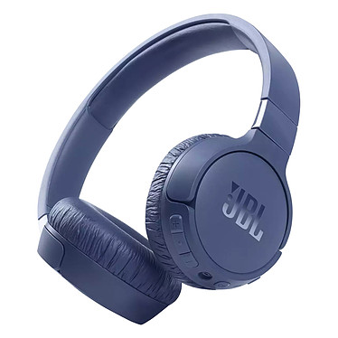 JBL Tune 660NC Bleu Casque supra-auriculaire fermé sans fil - Réduction de bruit active - Bluetooth 5.0 - Commandes/Micro - Autonomie 44h