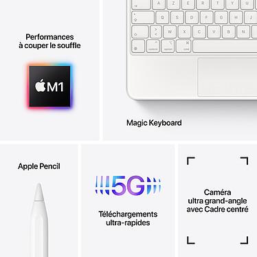 Acheter Apple iPad Pro (2021) 11 pouces 128 Go Wi-Fi + Cellular Argent