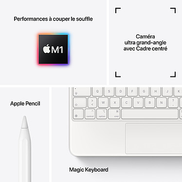 Acheter Apple iPad Pro (2021) 11 pouces 2 To Wi-Fi Argent