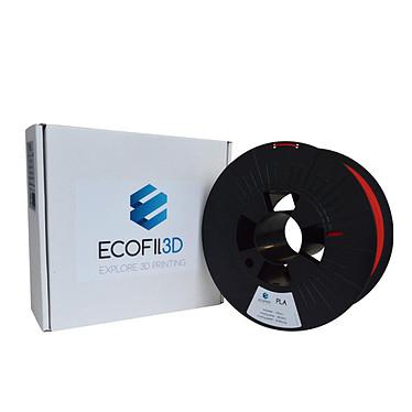 Avis ECOFIL3D Bobine PLA 1.75mm 1 Kg - Rouge