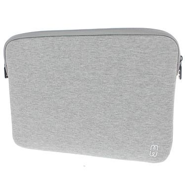 MW Basic Sleeve Gris/Blanc
