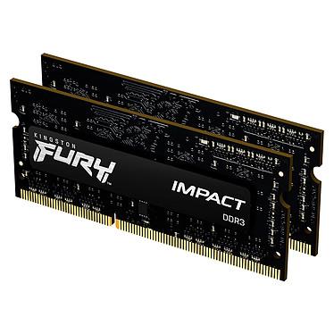 Avis Kingston FURY Impact SO-DIMM 8 Go (2 x 4 Go) DDR3 1600 MHz CL9