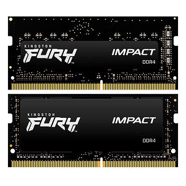 Avis Kingston FURY Impact SO-DIMM 64 Go (2 x 32 Go) DDR4 3200 MHz CL20