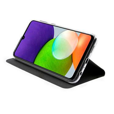 Avis Akashi Etui Folio Porte Carte Noir Samsung Galaxy A22 4G