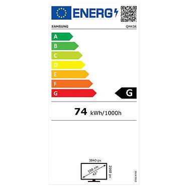 """Samsung 43"""" LED - QM43R (2021) pas cher"""