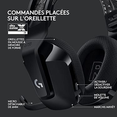 Logitech G733 Lightspeed (Noir) pas cher