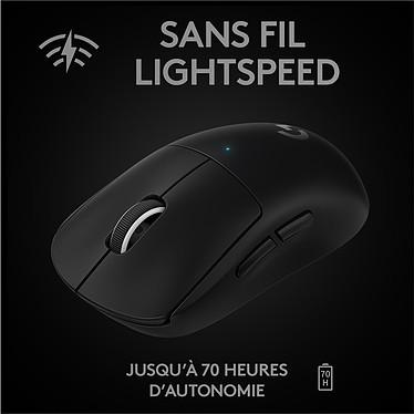 Acheter Logitech Wireless Gaming Pro X Superlight (Noir)