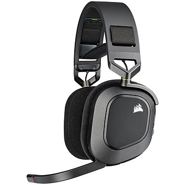 Corsair HS80 RGB Wireless (Noir)