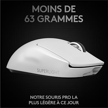 Avis Logitech G Wireless Gaming Pro X Superlight (Blanc)