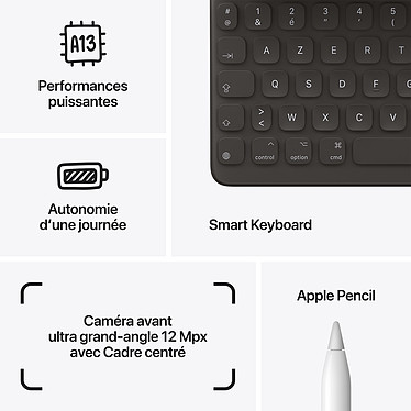 Acheter Apple iPad (2021) 256 Go Wi-Fi Gris Sidéral