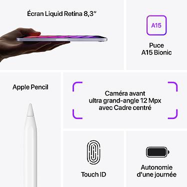 Acheter Apple iPad mini (2021) 64 Go Wi-Fi Rose