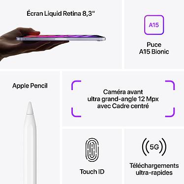 Acheter Apple iPad mini (2021) 256 Go Wi-Fi + Cellular Gris Sidéral