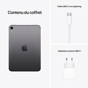 Apple iPad mini (2021) 256 Go Wi-Fi + Cellular Gris Sidéral pas cher