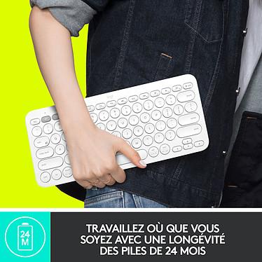 Logitech Multi-Device Keyboard K380 (Gris) pas cher