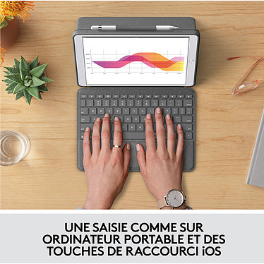 Avis Logitech Combo Touch (iPad)