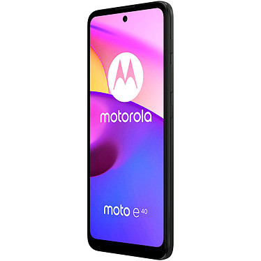 Avis Motorola Moto E40 Noir
