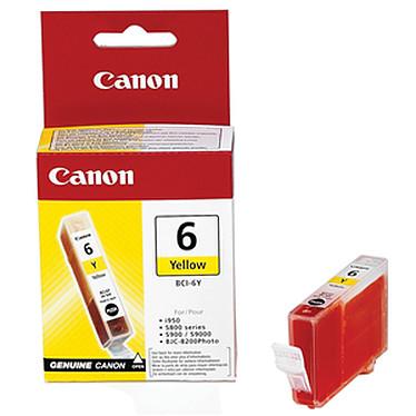 Canon BCI-6 Y Cartouche d'encre jaune