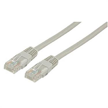 Cable RJ45 de categoría 5e U/UTP 20 m (beis)