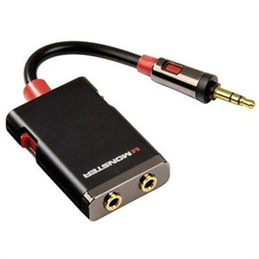 Monster Cable câble dédoubleur Jack 3.5 mm