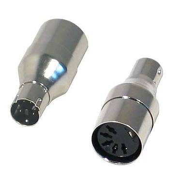 Mini adaptateur PS/2 mâle / DIN5 femelle