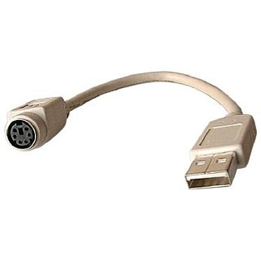 Adaptateur USB pour souris PS/2 (Mini Din 6)