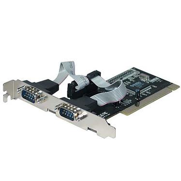 Carte contrôleur PCI avec 2 ports RS-232 (DB-9) Carte contrôleur PCI avec 2 ports RS-232 (DB-9)