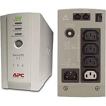 APC Back-UPS CS 500VA Onduleur off-line monophasés 230V (USB / Série)