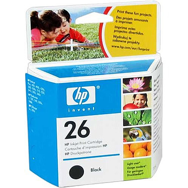HP 51626GE - Noir 20ml (n°26)