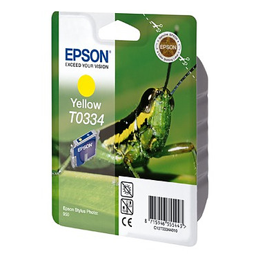 Epson T0334 Epson T0334 - Cartouche d'encre jaune
