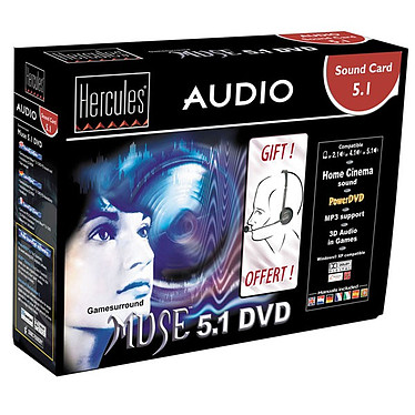 Hercules Gamesurround Muse 5.1