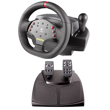 Logitech MOMO Racing Force Feedback Wheel (PC)