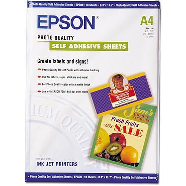 Epson C13S041106 Epson C13S041106 - Papel fotoadhesivo estucado de calidad (10 hojas)