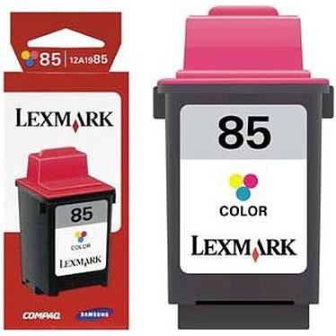 Lexmark cartouche 12A1985 n°85 (Couleur) - Longue durée !