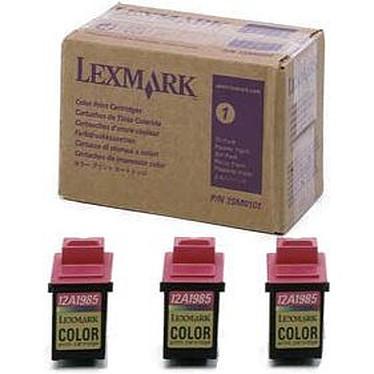 Lexmark 15M0101 - Couleur longue durée (pack de 3)