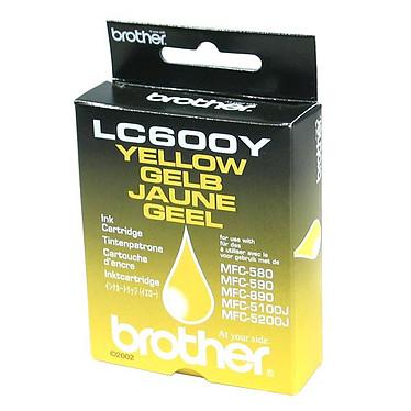 Brother LC600Y Cartouche d'encre jaune (450 pages à 5%)