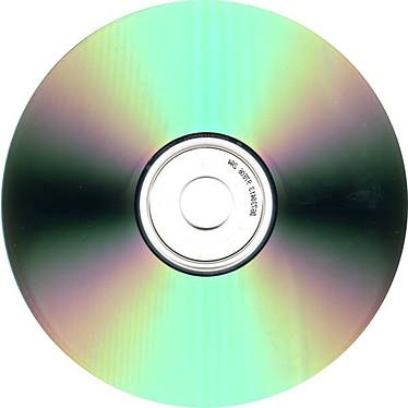 CD-R 80mn Black Certifiés 48x (pack de 10)